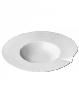 Assiette à dégustation en porcelaine Canopée