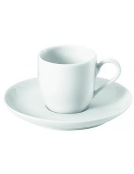 Soucoupe à café en porcelaine Cécil