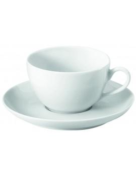 Soucoupe à thé en porcelaine Cécil
