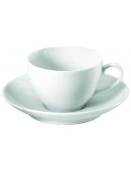 Soucoupe à déjeuner en porcelaine Cécil