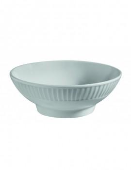 Coupelle ronde en porcelaine Plissé art de la table