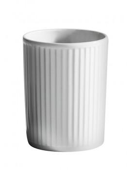 Gobelet en porcelaine Plissé