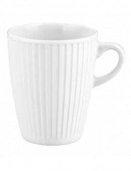 Mug en porcelaine Plissé