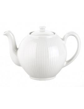 Théière en porcelaine Plissé