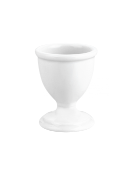 Coquetier ordinaire en porcelaine Les Classiques