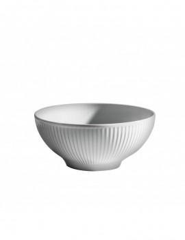 Bol Asean  en porcelaine Plissé