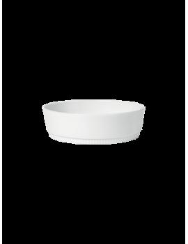 Plat à gratin rond en porcelaine Toulouse