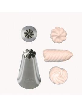 Douille effet spirale n°108 - Ø 1,3 cm - 8 dents