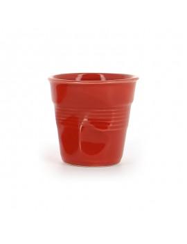 Tasse espresso unie en porcelaine