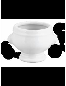 Soupière tête de lion (coulée) en porcelaine Les Classiques