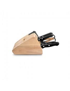 Bloc couteaux Darkwood 5 pièces