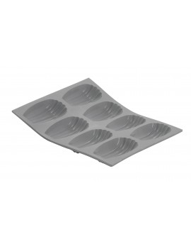 Moule silicone à Madeleines