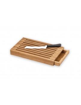 Planche à pain avec récupérateur miettes