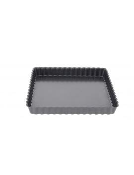 Moule à tarte carré à fond amovible