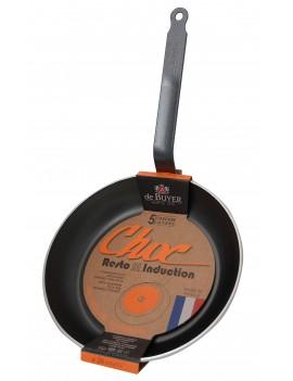 Poêle ronde antiadhésive Choc Resto Induction