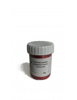 Colorant scintillant cuivre poudre liposoluble professionnel