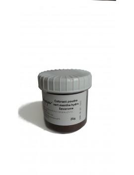 Colorant vert menthe poudre hydrosoluble professionnel