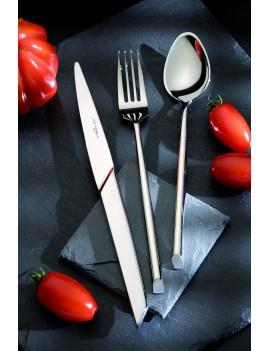Set 48 couverts  X15 1860 : Fourchettes - Cuillères - Couteaux - Cuillères à café ETERNUM