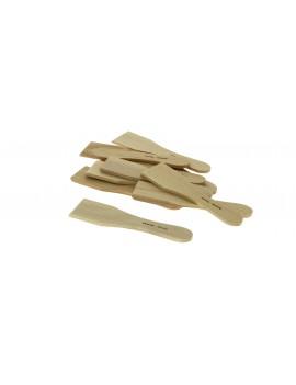 10 mini spatules à raclette ou blinis en bois d'hêtre 14cm DE BUYER INDUSTRIES