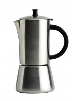 Cafetiere Palermo inox brossé induction