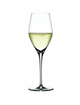 4 verres de cristal à...