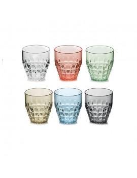 Lot de 6 verres bas Tiffany