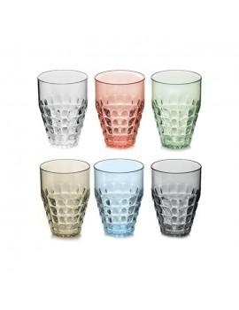 Lot de 6 verres hauts Tiffany