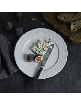 Assiette plate Plissé Pillivuyt