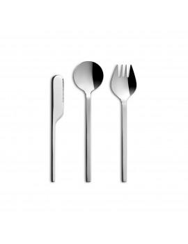 Set de couverts Lab - Couteau - Fourchette - Cuillère CULTER