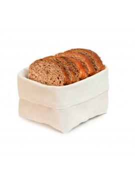 Corbeille à pain en coton 12 x 12 cm