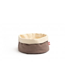 Corbeille à pain ronde en coton Ø 20 cm COMAS