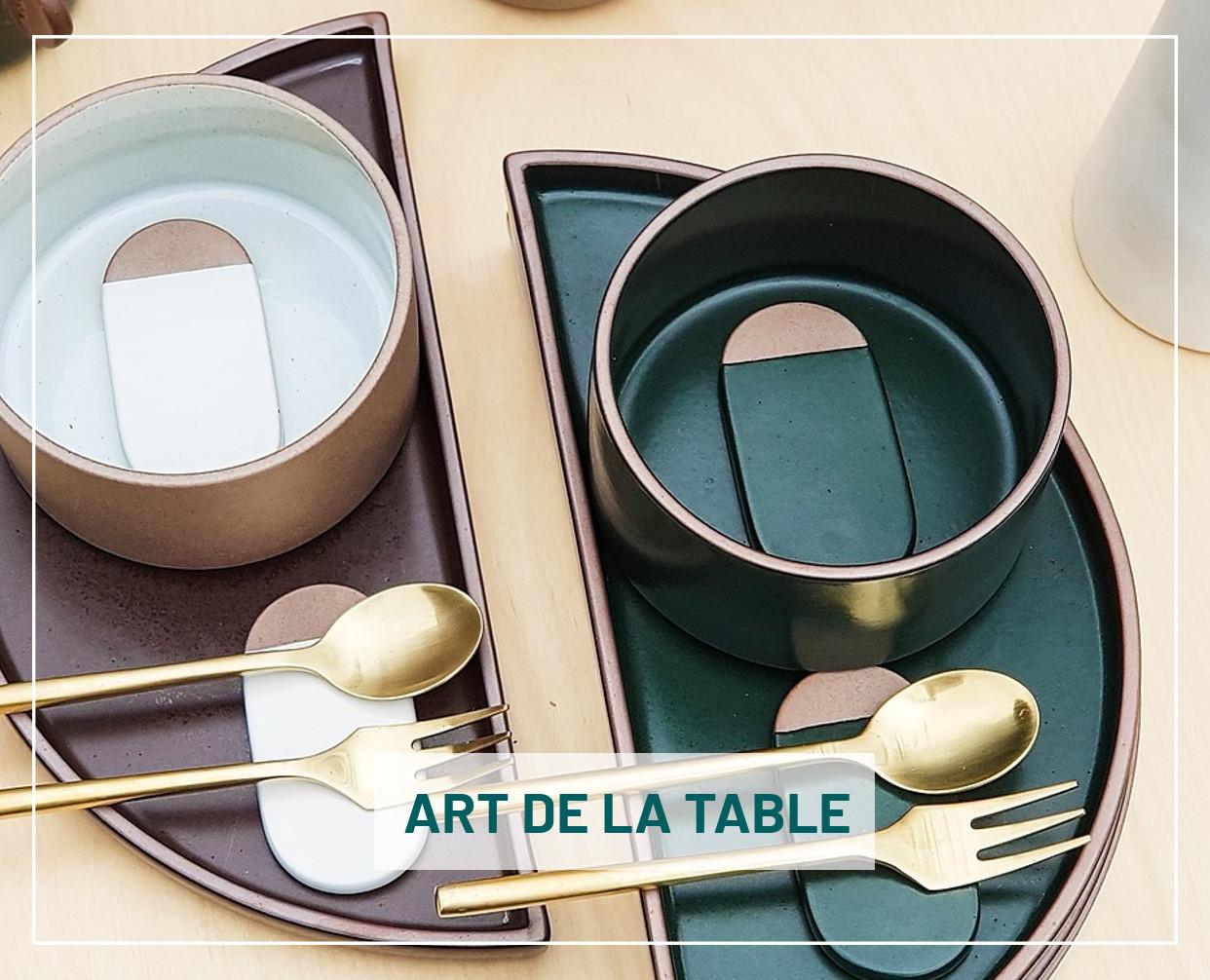 Visitez notre univers de l'art de la table