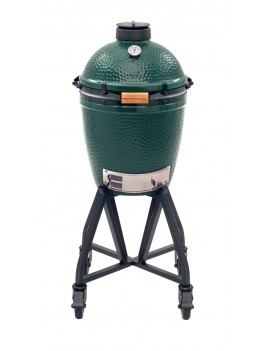 Kamado MEDIUM - Pack Start avec chariot à roulettes BIG GREEN EGG