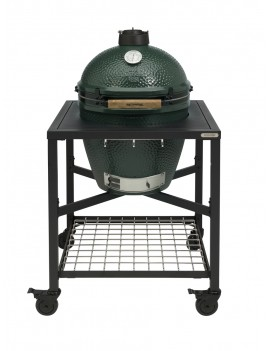 Kamado LARGE - Ensemble Egg + Table modulaire BIG GREEN EGG