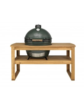 Kamado XL-EGG  Ensemble Egg + Table acacia BIG GREEN EGG