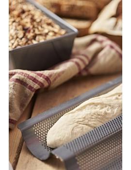 Plaque de cuisson perforée pour 2 baguettes de Buyer