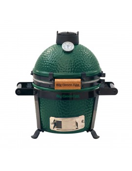 Kamado MINI - Pack Start avec berceau à roulettes BIG GREEN EGG