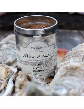Poivre à huîtres 60 g TERRE EXOTIQUE