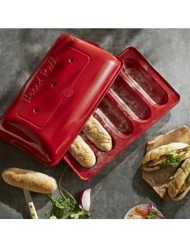 Moule à Mini-Baguettes en céramique Emile Henry EMILE HENRY