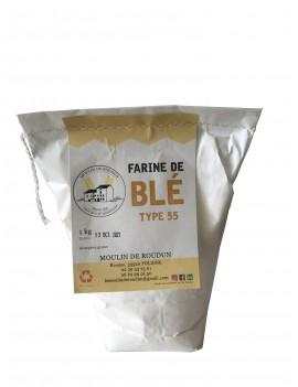 Farine de blé LE MOULIN DE ROUDUN