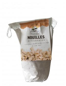 Nouilles farine de blé tendre + 30% oeufs LE MOULIN DE ROUDUN