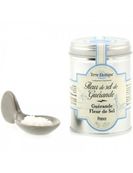 Fleur de sel de Guérande IGP 90 g TERRE EXOTIQUE