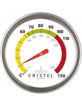 Biome cuisson saine avec thermomètre CRISTEL