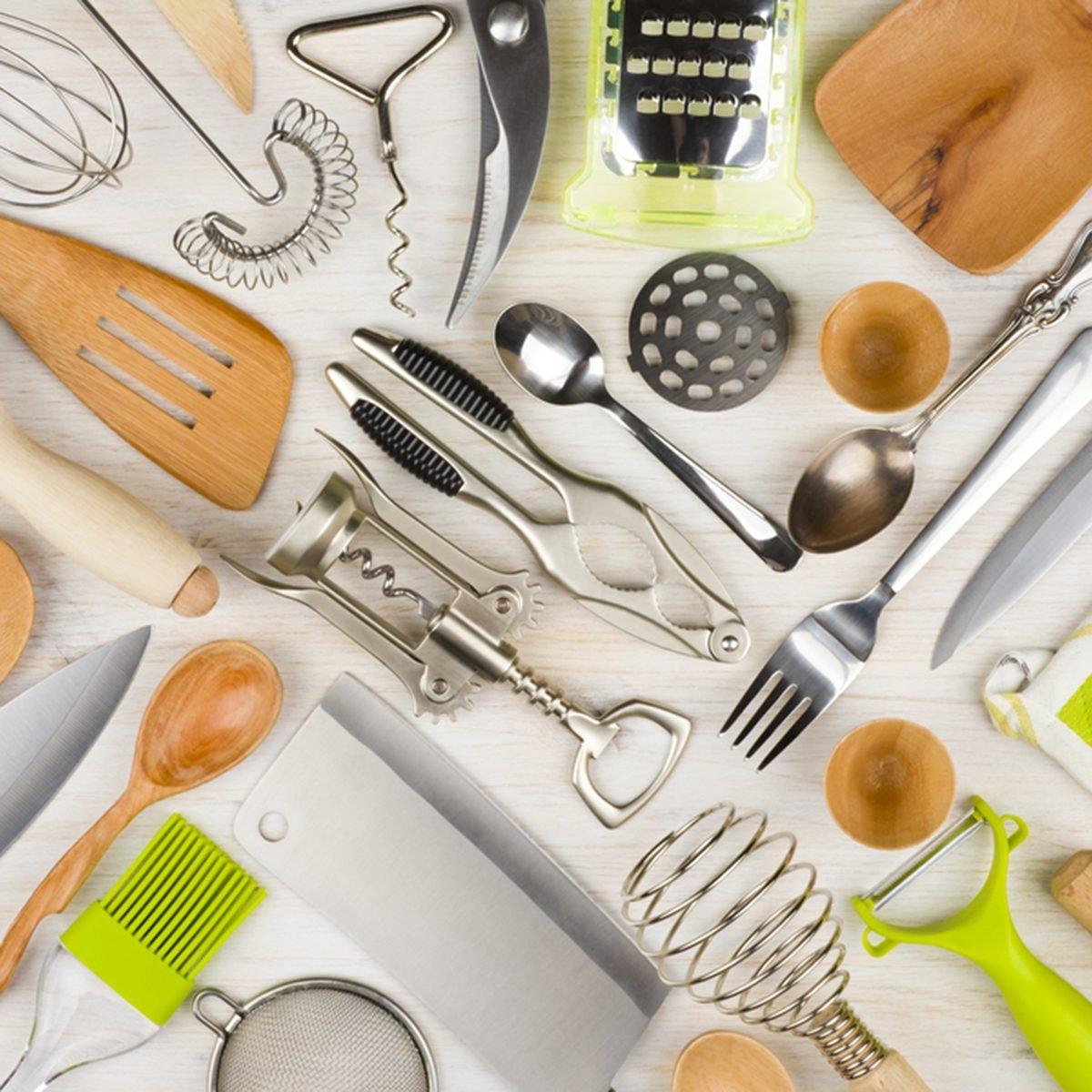 Le kit du parfait cuisinier : Les ustensiles