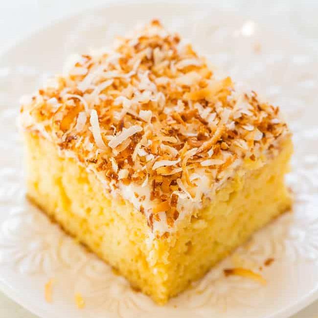 Gâteau au potiron et noix de coco