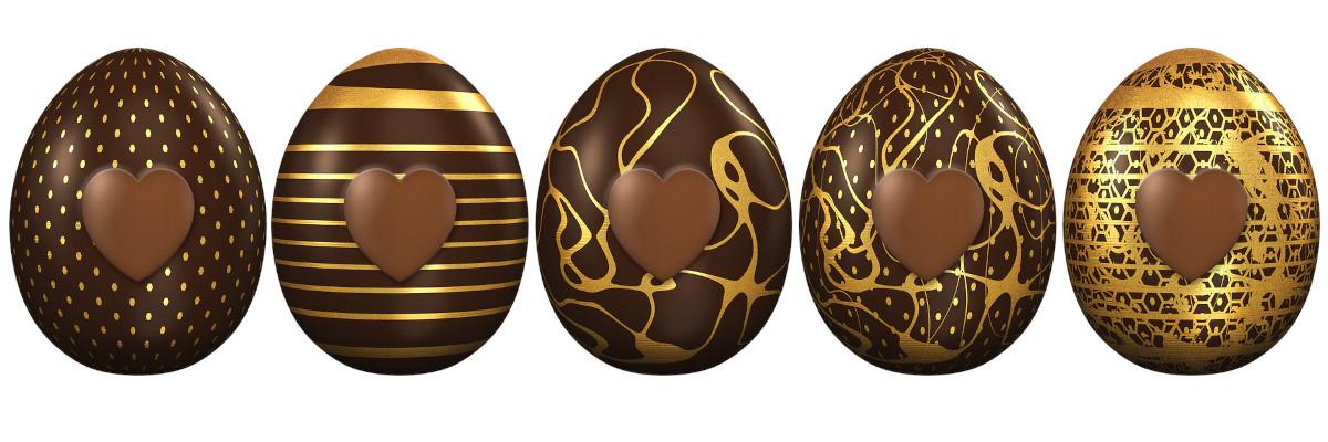 Œufs au chocolat - Pâques