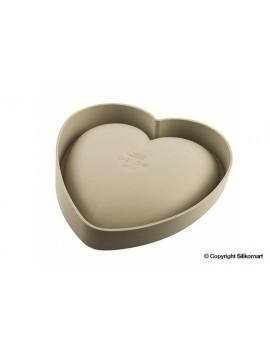 Batticuore - moule silicone dim.20,5x19,8x6,3 cm Silikomart