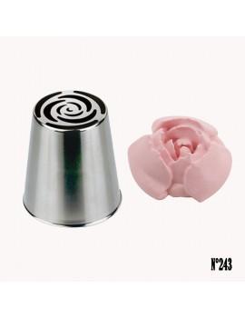 Douille russe à fleur n°243 - Ø 2,6 cm De buyer