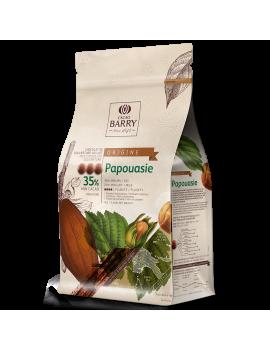 Papouasie lait 35% Chocolat de couverture CACAO BARRY