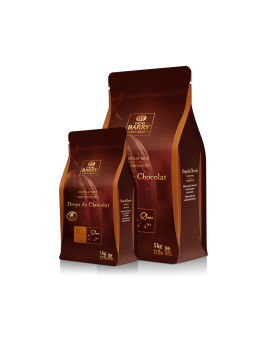 Drops de chocolat 7500 Cacao 50% CACAO BARRY